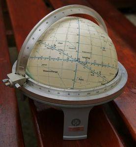 Nautical globe compass