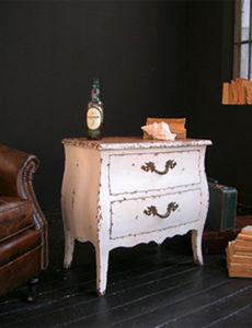 BLEU PROVENCE - vintage blanc - Bedside Table