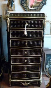 Art & Antiques - secrétaire droit napoléon iii marqueterie à la rei - Secretary Desk