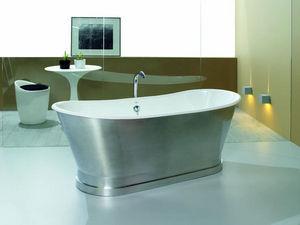 BLEU PROVENCE - epoque alluminio - Freestanding Bathtub