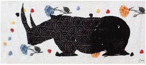 NEOLICE - rhino - Modern Tapestry