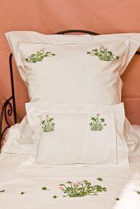 Brigitte Vermelin - printemps - Bed Sheet