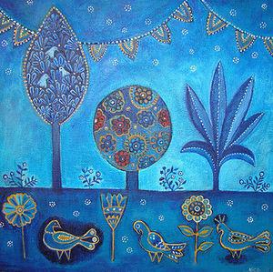 NICOLETTE CARTER -  - Decorative Painting