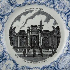 Expertissim - creil et montereau. onze assiettes - Decorative Platter