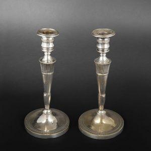Expertissim - paire de flambeaux - Candlestick
