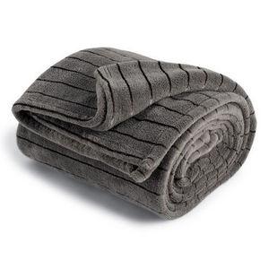 MAISONS DU MONDE - chauffeuse soft grise - Blanket