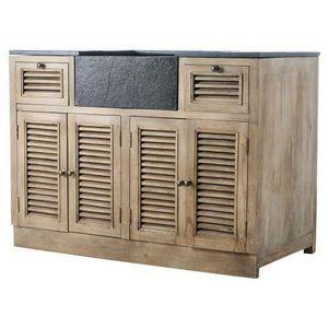 MAISONS DU MONDE - cuisine élément bas 120 persiennes - Kitchen Furniture