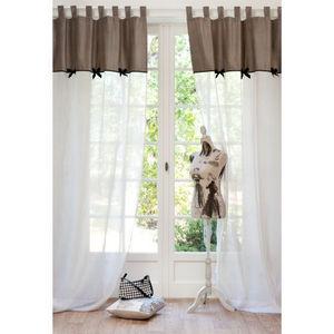 MAISONS DU MONDE - rideau coco - Tab Top Curtain