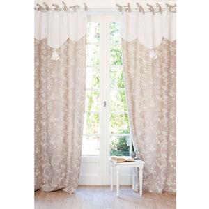 MAISONS DU MONDE - rideau roseraie - Lace Curtain