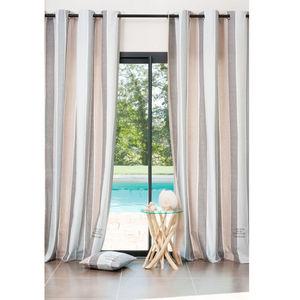 Maisons du monde - rideau tampon - Eyelet Curtain