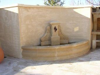 Marbrerie Rouillon - cavaillon - Wall Fountain