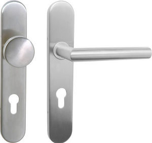 DESIGN MAT - ensemble paliere fixe bequille lazer - Complete Door Handle Kit