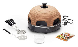 Food & Fun - pr 6.6 pizzarette direct 4 persons - Electric Set Pizza