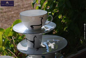 Inès de Nicolaÿ - antilope - Tea Service