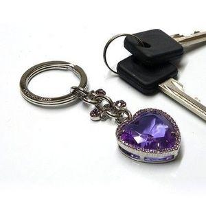 Gift Company - porte-cles coeur bleu ocean - Key Ring