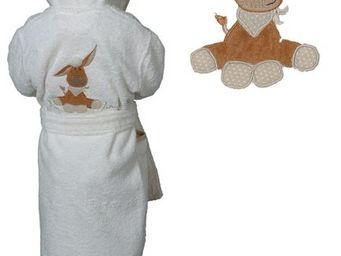 SIRETEX - SENSEI - peignoir enfant brodé arthur - Children's Dressing Gown