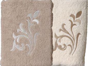 SIRETEX - SENSEI - serviette invité 30x50cm brodée versailles 550gr/m - Guest Towel