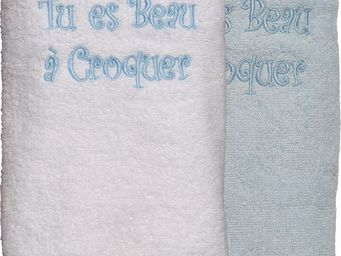 SIRETEX - SENSEI - drap douche 70x140cm beau a croquer - Children's Bath Towel