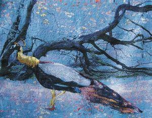 Woven Wonders - gobelin - Modern Tapestry