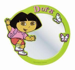 DORA - miroir dora vert - Children's Photograph Frame