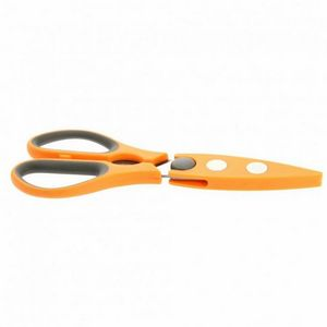 WHITE LABEL - ciseaux multi-usages en acier inoxydable avec étui - Kitchen Scissors