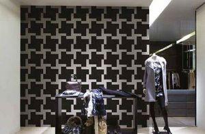 DEMOUR & DEMOUR Mosaïques - maxi pied de poule - Mosaic Tile Wall