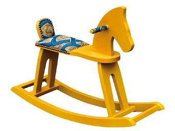 Gilles Nouailhac - balthazar jaune - Rocking Horse