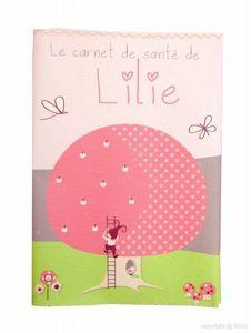 BABY SPHERE - protège carnet de santé elfina petite fille - Health Book Cover