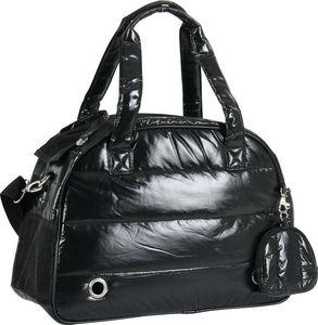 ZOLUX - sac de transport matelassé noir aspect doudoune 41 - Doggy Bed