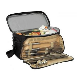 Delta - sac isotherme barbecue noir - Picnic Basket