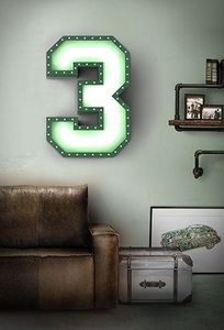 DELIGHTFULL - 3 - Decorative Letters And Numbers
