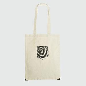 JOVENS - tote bag pocket  - Handbag
