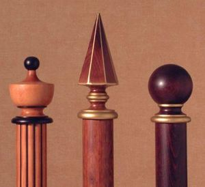 Hunter & Hyland -  - Finial