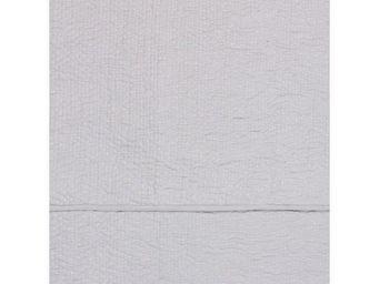 BLANC D'IVOIRE - cesar coton mastic - Matelasse Bedspread