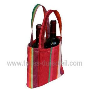 Les Toiles Du Soleil - petit sandia rouge - Bottle Bag