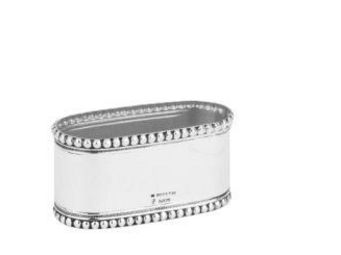 Topazio - continhas oval - Napkin Ring