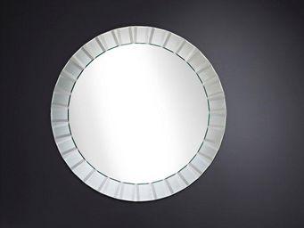 WHITE LABEL - moonlight miroir mural design en verre - Porthole Mirror