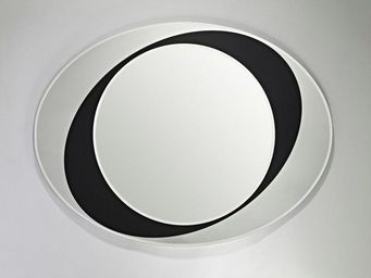 WHITE LABEL - walkabout miroir mural en verre - Porthole Mirror