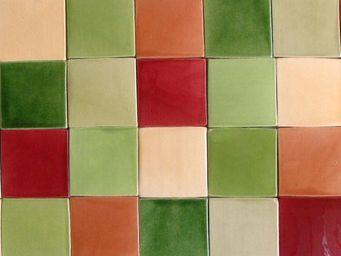 Ceramiques du Beaujolais -  - Enamelled Terra Cotta Tile