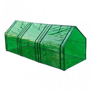 WHITE LABEL - serre de jardin 240x90x90 cm - Greenhouse