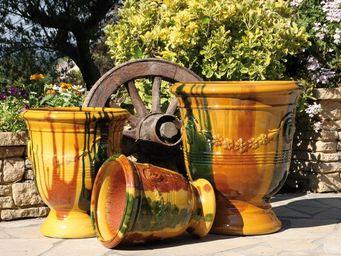 Les Poteries D'albi - pied guirlande - Garden Pot