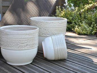 Les Poteries D'albi - vase rebord - Flower Container