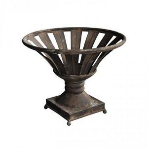 Demeure et Jardin - jatte ajourée en fer forgé patiné - Decorative Cup