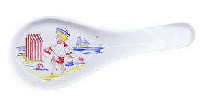 PORCELAINE CLAUDIE FRANEL - grand model - Spoon Rest
