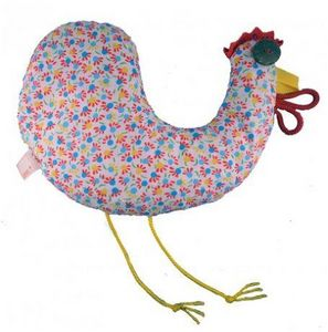 ROSSO CUORE - seeds pillow hen - Profiled Pillow