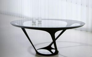 ROCHE BOBOIS -  - Round Diner Table