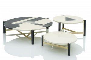 JNL - UNGARO -  - Round Coffee Table