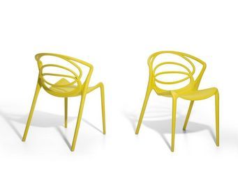 BELIANI - bend - Garden Chair