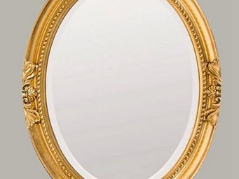 UsiRama.com - miroir baroque sculpture design luxe sculp1 - Shower Mirror