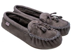 BABBI - winnetou taupe - Slippers